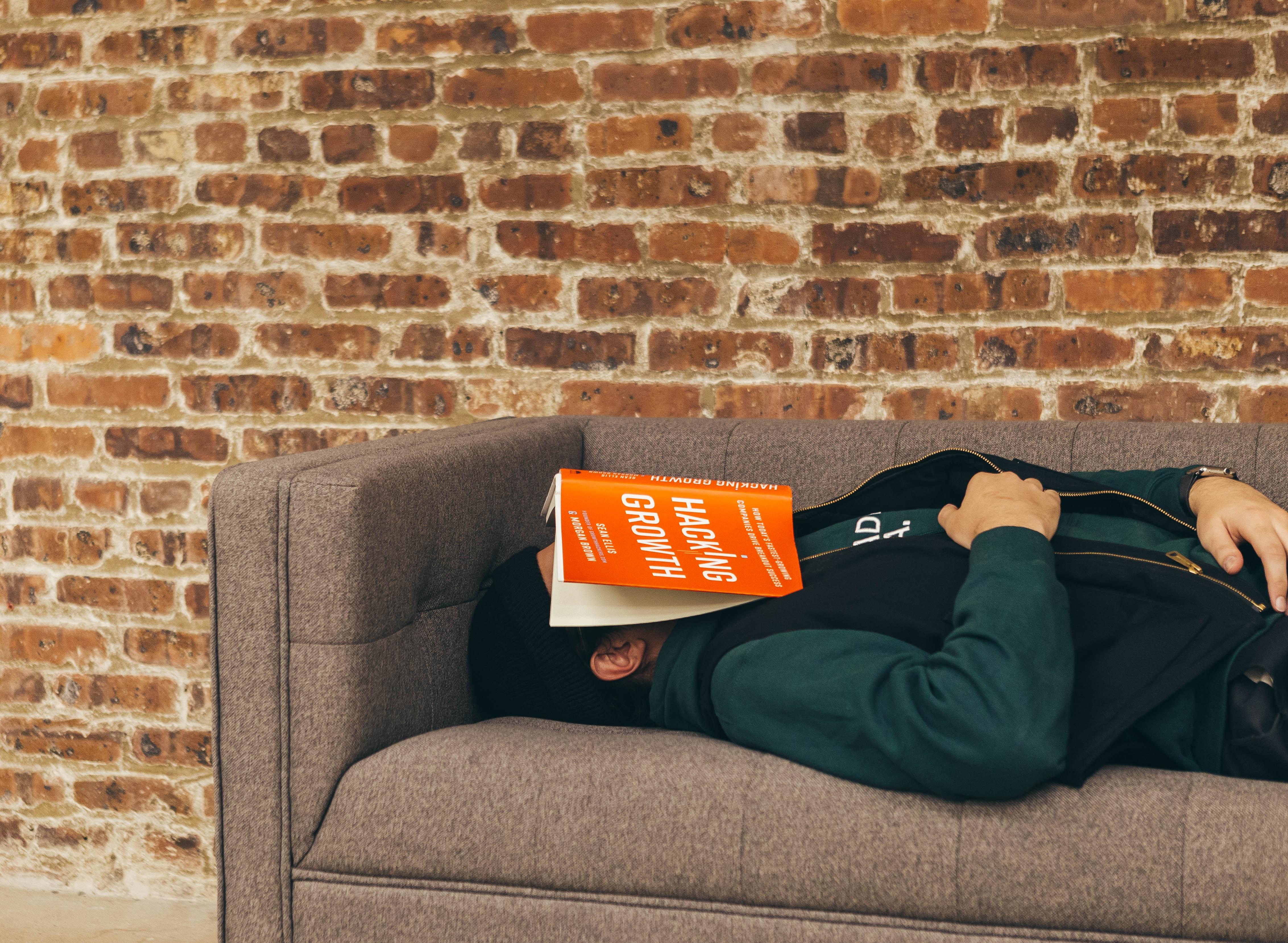 Employee sleeping on the job